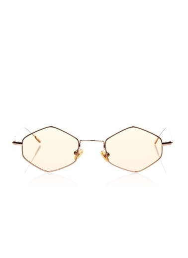 Optoline Opc 17052 06 Oval  Gövde Polarize Cam Kadın Güneş Gözlüğü Kahve
